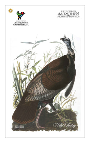 Golf Bag Towel Wild Turkey
