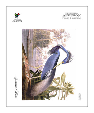 Pocket Kitchen Towel Louisiana Heron
