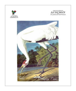 Pocket Kitchen Towel Whooping Crane