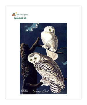 WBU0104, Pocket/Kitchen/Tea Towel, SO, SNOWYOWL, S