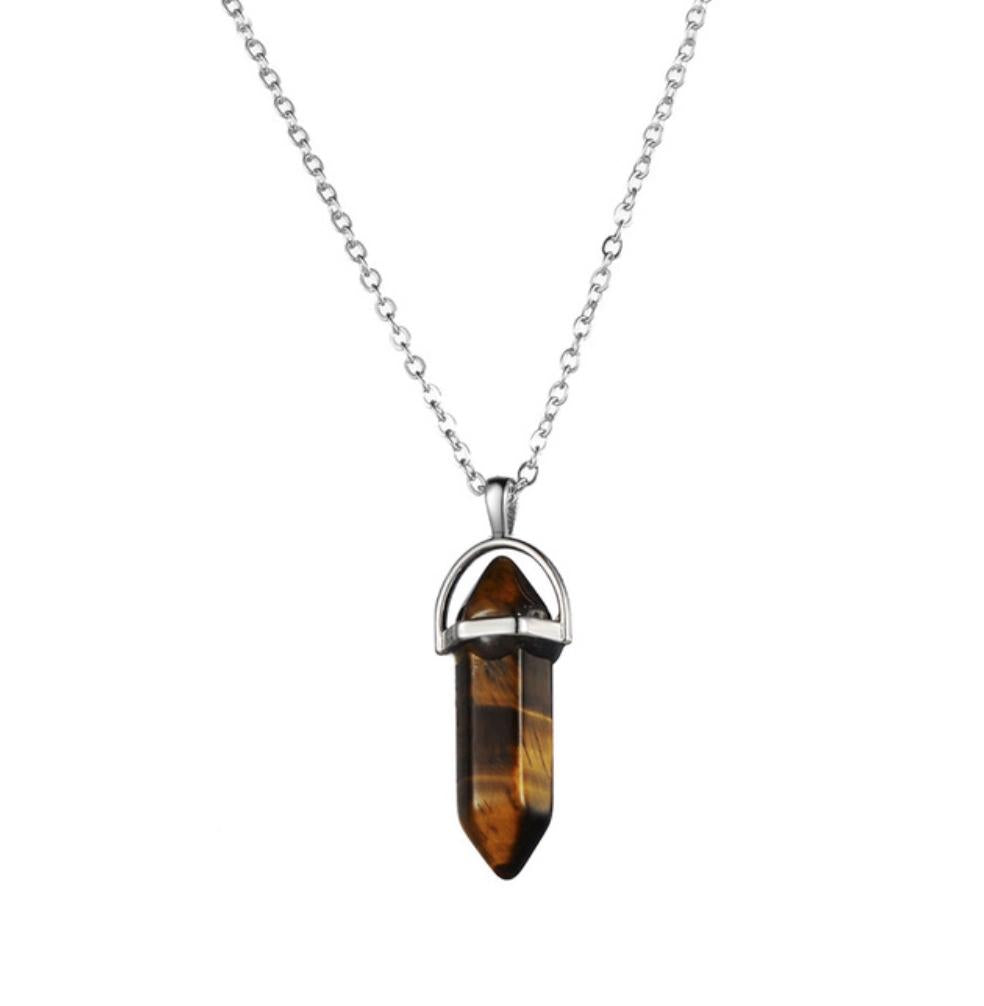 Le Collier Quartz Fumé