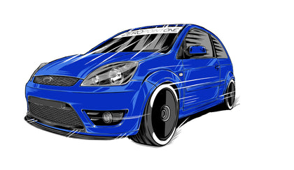 Ford Fiesta ST150 ZeroPointOne collection