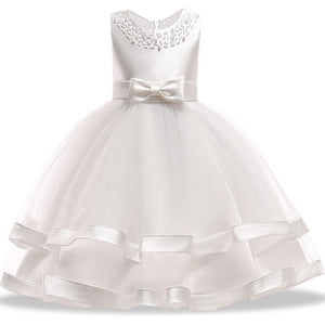 0ce862e79a56a 2019 Princess Costume Kids Dresses For Girls Clothing Flower Party Girls  Dress Elegant Wedding Dress For Girl Clothes 3 10 Years
