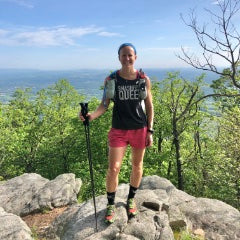 Hiking to help endurance training by Alyssa Godesky