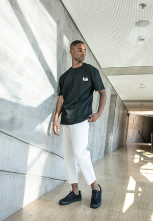 Be.Diff Reflective Oversized T-shirt Black