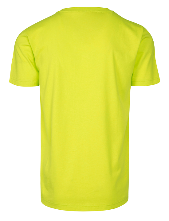Be.Diff Badge T-shirt NeonYellow