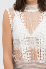 Load image into Gallery viewer, So Romantic Lace Top