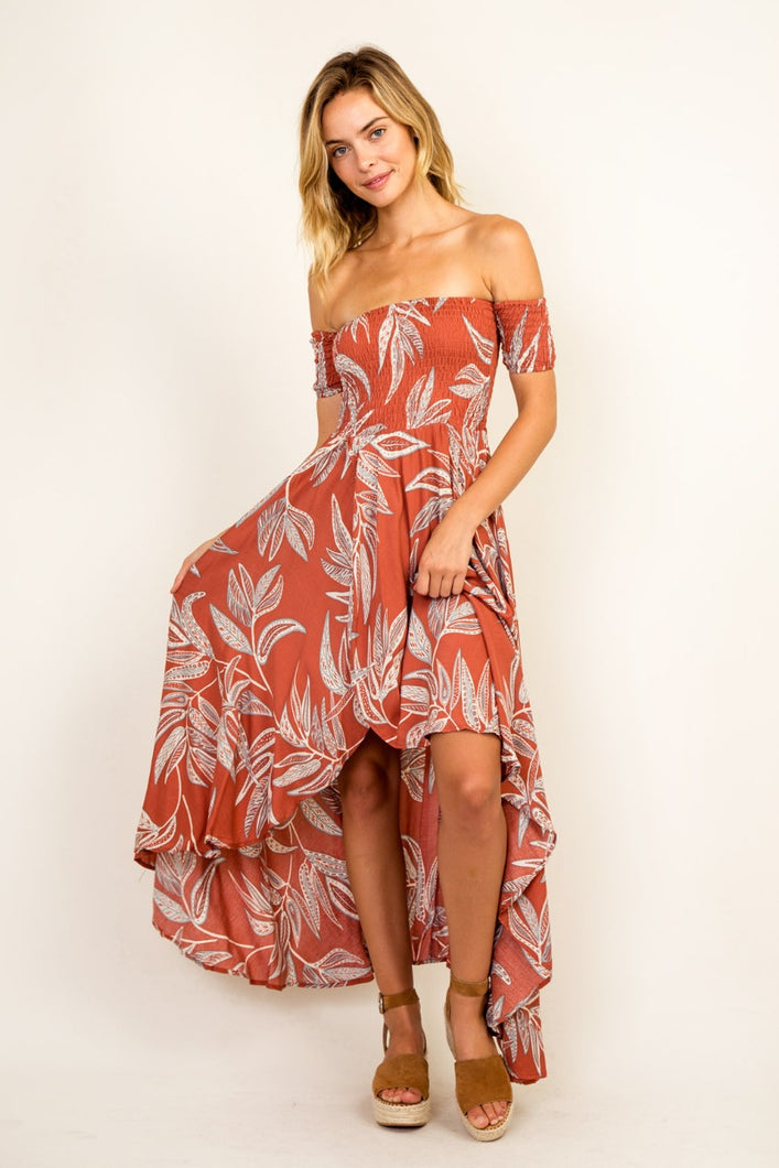 Desert Palms Dress
