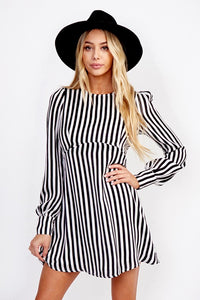 Stripes On Point Dress