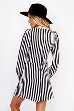 Load image into Gallery viewer, Stripes On Point Dress