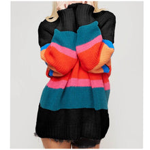 Load image into Gallery viewer, Rainbows & Stripes Sweater