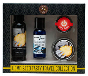Hemp Seed Tasty Travel Collection - Pineapple