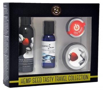 Hemp Seed Tasty Travel Collection - Strawberry