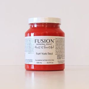 Fort York Red by Fusion
