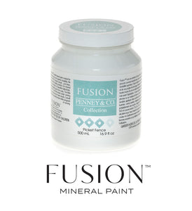 Fusion Paint Pint Picket Fence