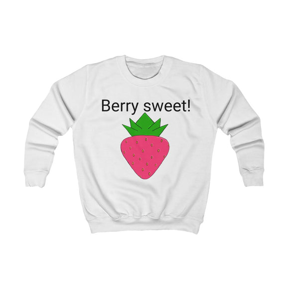 """Berry Sweet"" Kids Sweatshirt"