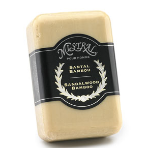 Sandalwood Bamboo Soap by Mistral