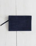 Clutch - Navy Foldover