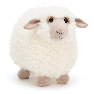 Large Cream Rolbie Sheep