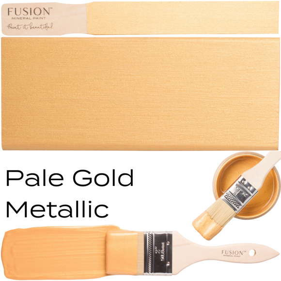 Pale Gold Metallic by Fusion