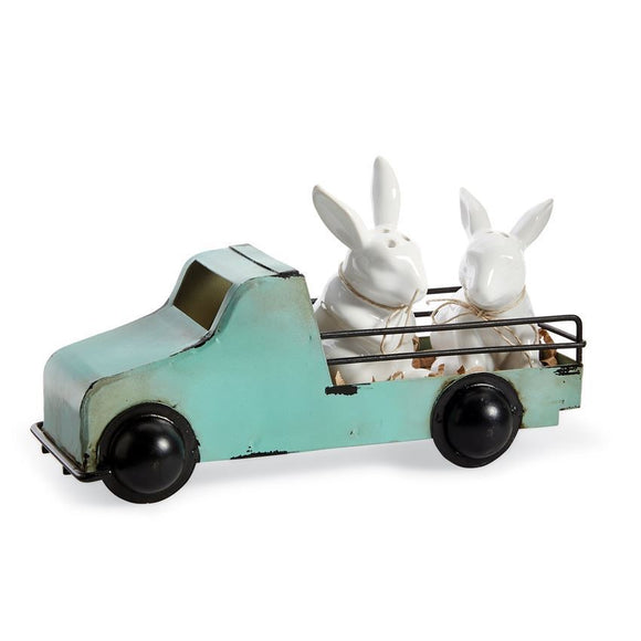 Truck Bunny Salt & Pepper Set