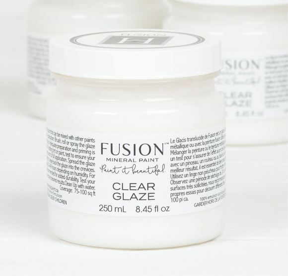 Clear Glaze by Fusion
