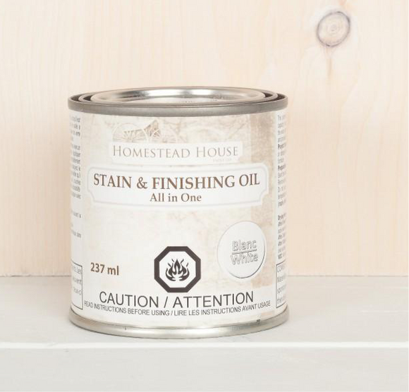 White Finishing Oil