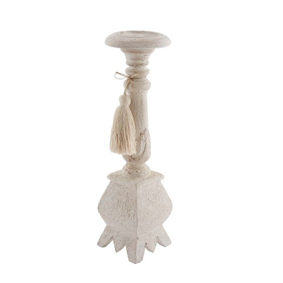 Small White Candlestick