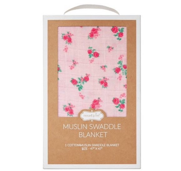 Tiny Rose Swaddle