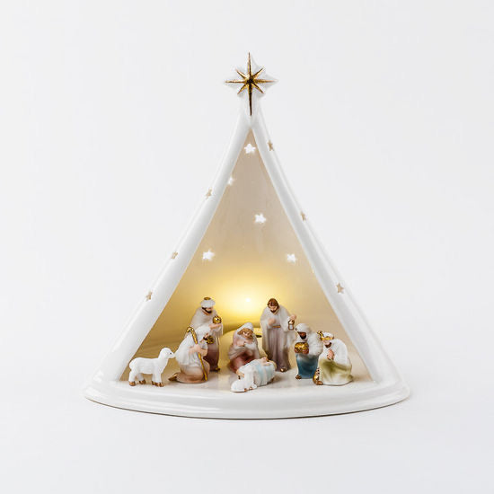 Nativity with LED Light