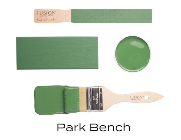 Park Bench by Fusion