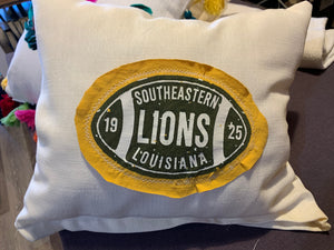 Southeastern Football Pillow