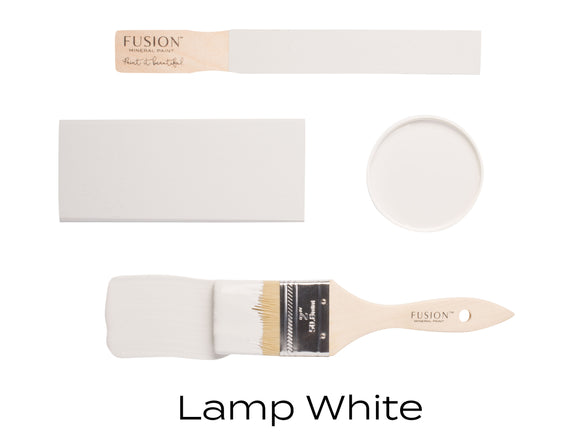 Lamp White by Fusion