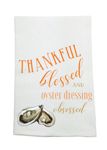 Thankful Oyster Dressing Towel