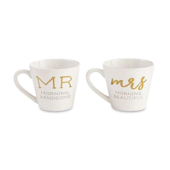 Mr. and Mrs. Boxed Mug Set