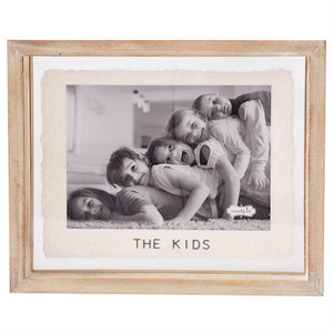The Kids / Wood Picture Frame