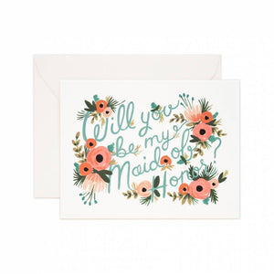 Maid of Honor Card by Rifle Paper Co.