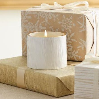 Wood Grain Frasier Fir Small Candle