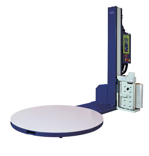 Optimax® Pre-stretch Semi-Automatic Pallet Wrapping Turntable With Soft Wrapping Feature