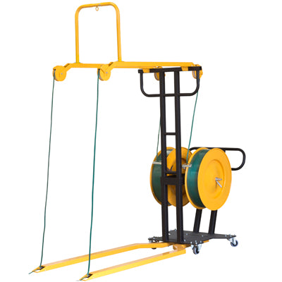 Mobile Pallet Strapping Frame for Polyester PET Strap