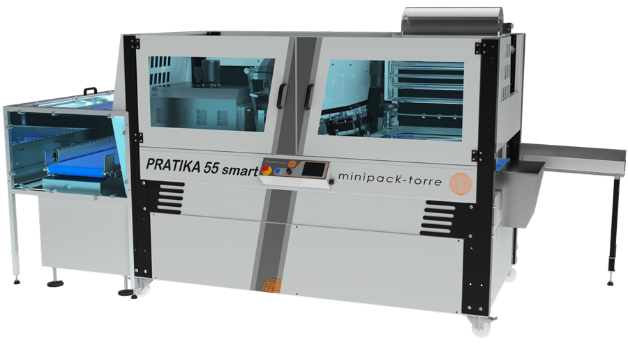 Pratika 55 Smart Automatic Shrink Wrap Machine with Incorporated Tunnel