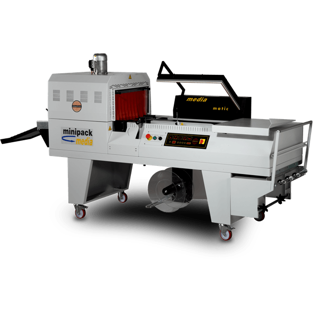 Media Semi-Automatic L Sealer & Shrink Tunnel
