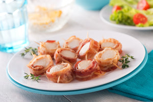 Bacon-Wrapped Scallops Bulk Pack (Frozen)