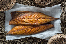 Load image into Gallery viewer, Hot-Smoked Mackerel (Frozen)