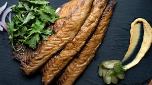 Frozen Hot-Smoked Mackerel