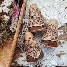 Load image into Gallery viewer, Henna Cone Incense Burners- Rhino Pottery