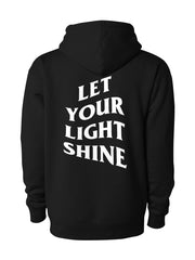 Let Your Light Shine Hoodie/Black