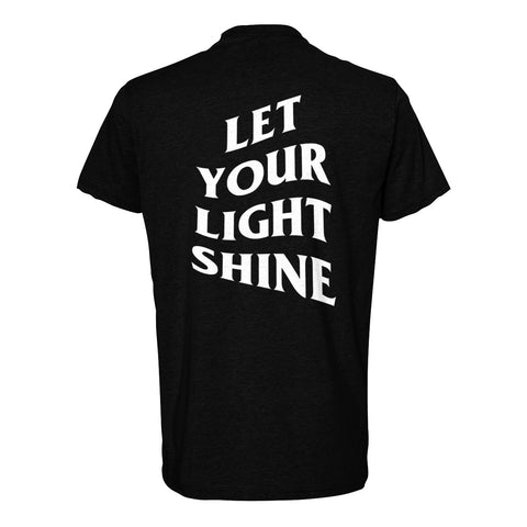 Let Your Light Shine Tees/Black