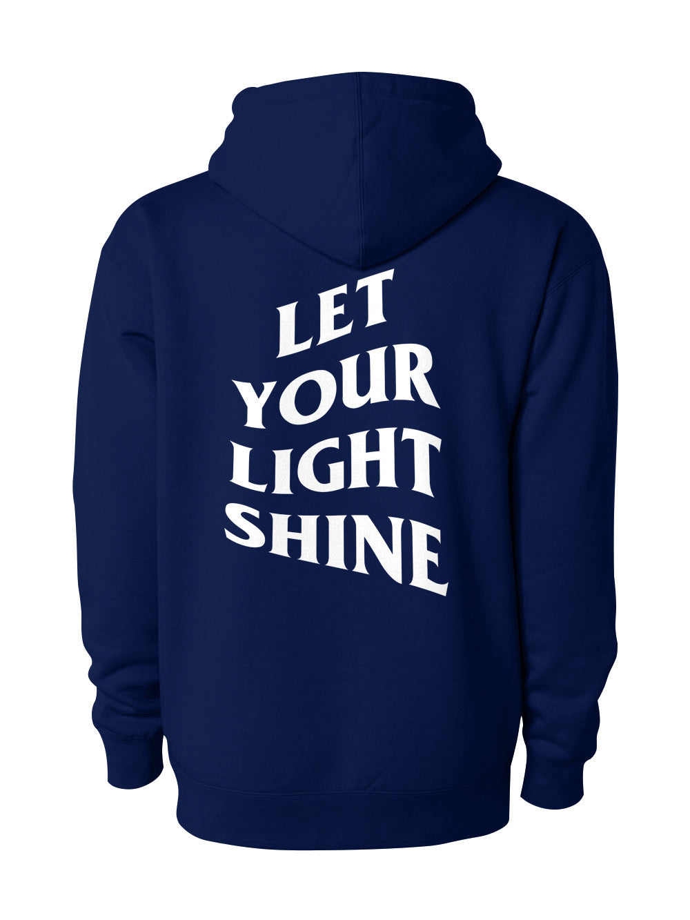 Let Your Light Shine Hoodie/Navy