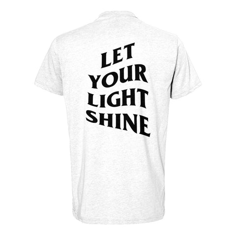 Let Your Light Shine Tees/White